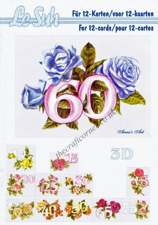 Anniversary A5 3D Decoupage Book from Le Suh